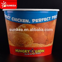 Printed Mcdonalds paper food packaging for fried chicken