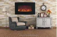 modern flame electric fireplace with led flame