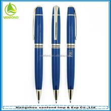 Brand business customized Logo promotional metal pen MOQ 1000pcs