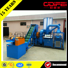 ODF directly provided cable granulator recycling