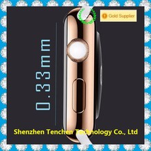 Newest 38mm 42mm watch for apple, tempered glass watch for apple tempered glass