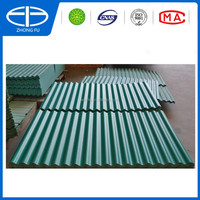1050mm width PVC roofing shingle price