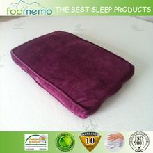 soft feeling comfortable memory foam pets bed