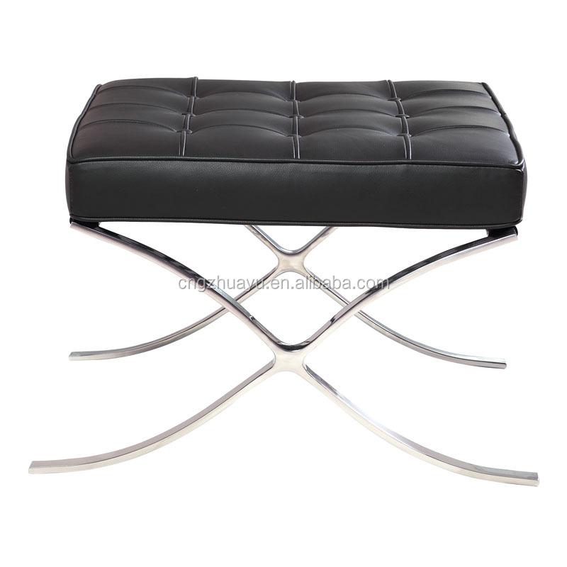 Sedia in pelle di barcellona sedie in soggiorno id for Sedia barcellona