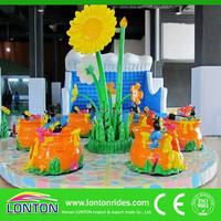 Modern amusement park rides Flower Coffee Cup Rides for sale