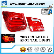 HOT SALE FOR BMW STYLE LED TAIL LIGHT FOR CHEVROLET CRUZE 2009 CAR STYLING