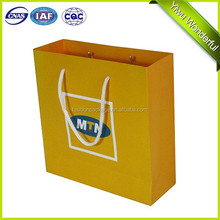 2015 China factory New style custom paper bag / gift packing paper bag / kraft paper shopping bag