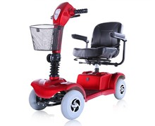 Luxuary Folding 4 wheels electric mobility scooter