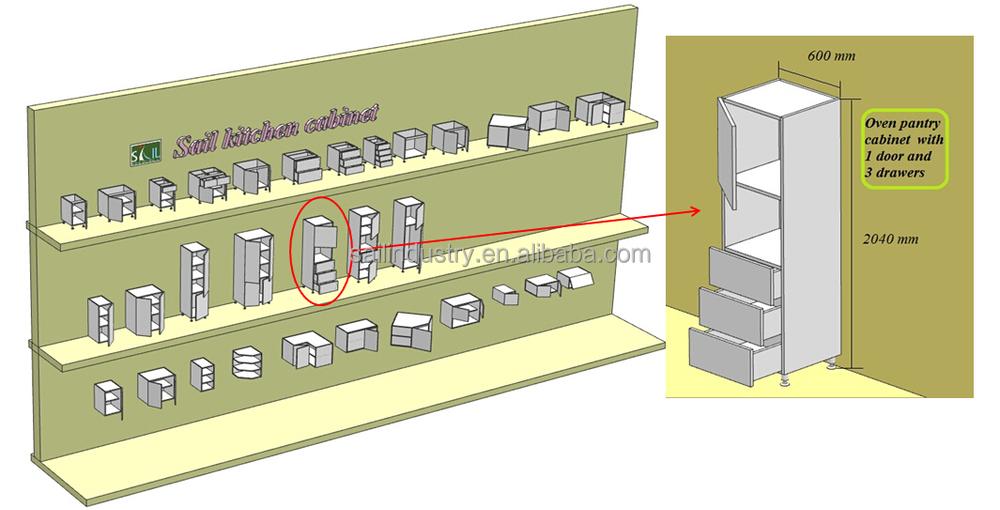 현대 모듈 형 고광택 섬유 유리 부엌 캐비닛 디자인-부엌 캐비닛 ...