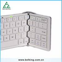 Plastic Hard Wireless Blutooth Tablet Keyboard Case For Samsung Tablet/ For iPad Tablet Smart Folding Keyboard
