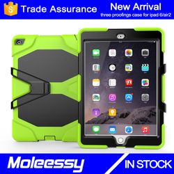 Newest designs shockproof universal tablet silicon case cover for iPad air 2