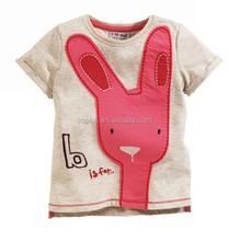 2015 Summer Hot Sale Short Sleeve Causal T-shirt Top Fashion Baby Girl T Shirt