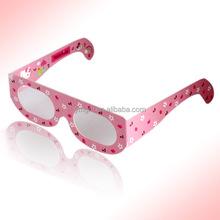 Cheap Smart Digital 3D Paper Glasses