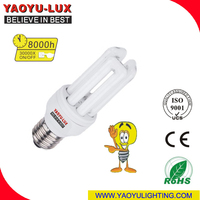 China Supplier 3U T2 Energy Saving Light Bulb/ CFL Lamp bulb