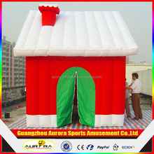 2016 best popular Attractive Lovely Inflatable Christmas Santa Bounce for outdoor decorations