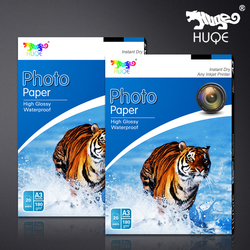 2016 new high glossy waterproof 180gsm A3 20 sheets inkjet photo paper