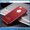 For iphone 5 aluminium case, case aluminium, for iphone 5 aluminum metal bumper case with screw