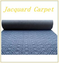 Home Textile New products low price double or velour jacquard carpet for office and hotel