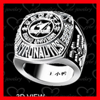 stainless steel jewelry ring class ring