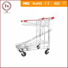 Higher quality and lower price ! Hand trolley with bottom holder