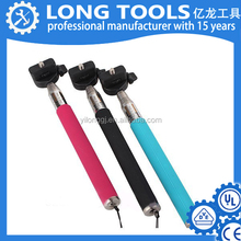 Hot sale customize selfie stick for cell phone aluminum extendable