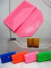 wholesales silicone hand bag pin safty silicone hand bag envelope shaped silicone hand bag