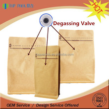 SGS Approval Food Grade Moisture Proof Laminated Kraft Paper Valve Bag
