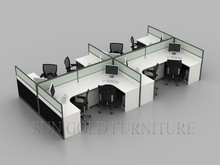 Italian Furniture Small Wooden Office Cubicle Design (SZ-WS811)
