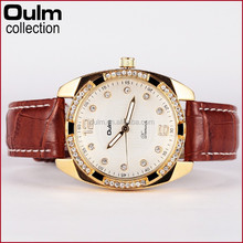 Oulm designer fancy ladies watches, women luxury watch, hand watch wholesale