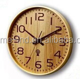 customized design antique wall clock high quality wooden clock