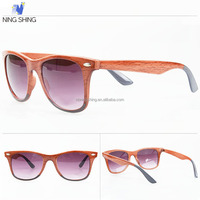 China Wholesale The Names Of The Italian Brands Of Fake Wood Fashion Sunglasses
