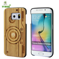 Christmas Promotion Wholesale Manufacturer Custom Design Wood Phone Cases For Samsung Galaxy S6 Edge