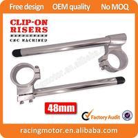 Street Bike 48mm Billet Racing Clipons Risers Clip-On Handlebars For KTM 990 Super Duke