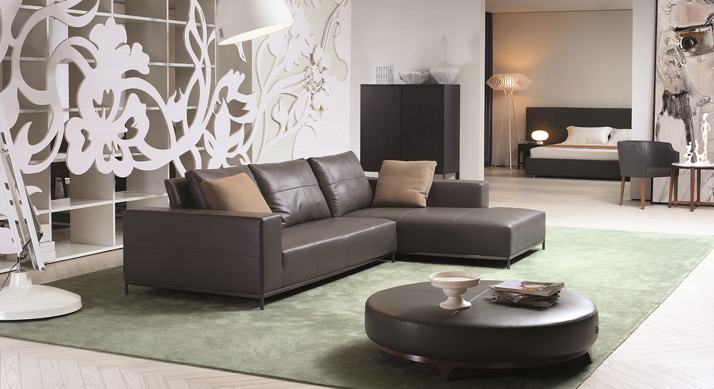 2015 modern design new model sofa sets top grain leather for New model living room furniture