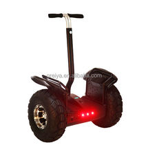 Two wheel off-road self balancing scooter folding bike electric