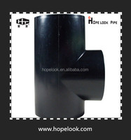 HDPE pipe siphon rainwater drainage system/pipe tee joints