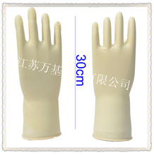 85 g white industrial latex gloves/ Resistance to acid and alkali beef tendon thickening rubber gloves