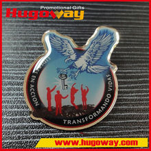 Offset Printing Lapel Pins Factory price Metal Crafts paper badge printer
