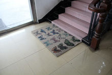 Best quality most popular printing kitchen rug/foam floor mat