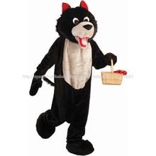 La mascota del lobo/disfraces de animales para los adultos