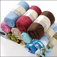 Cheap 100%Polyester Plain Dyed Polar Fleece Blanket Fabric