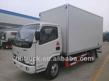 cargo vans of Dongfeng brand loading 2ton