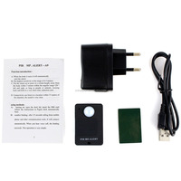 Wireless Mini PIR MP. Alert Infrared Sensor Alarm Motion Detector GSM Alarm Monitor Remote Control