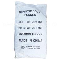 caustic soda flake in 25kg bag