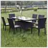 J370Comfortable Rattan Dining Set design rattan cube outdoor furniture