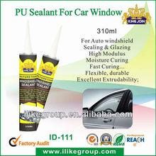 Waterproof Auto window glass polyurethane sealant repair glue(SGS,TUV,REACH)