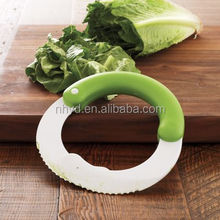 2015 new products food grade plastic vegetable fruit cutter salad Shears Lettuce Chopper salad cutter for kitchen