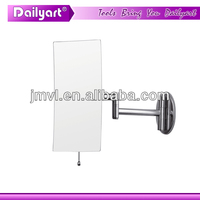 2015 Double Vision Wall Extension bluetooth mirror with reverse camera and sensors