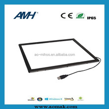 POS,ATM Typical application with touch function ir touch screen frame