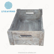 New products decorative vintage wooden crates wholesale